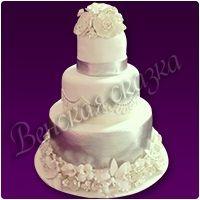 Торт на свадьбу №1