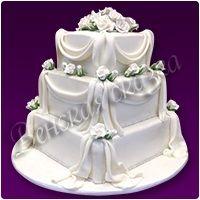 Торт на свадьбу №2