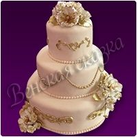 Торт на свадьбу №3