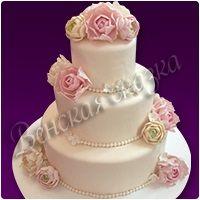 Торт на свадьбу №4