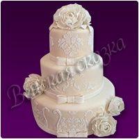 Торт на свадьбу №5