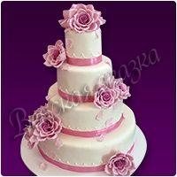 Торт на свадьбу №6
