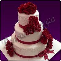 Торт на свадьбу №7