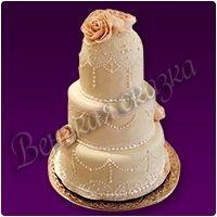 Торт на свадьбу №8