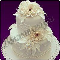 Торт на свадьбу №9