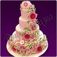Свадебный торт №26