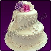 Торт на свадьбу №23