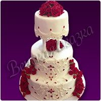 Торт на свадьбу №20