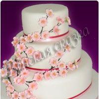 Торт на свадьбу №10