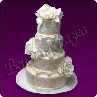 Торт на свадьбу №11