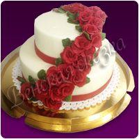 Торт на свадьбу №17