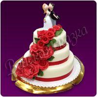 Торт на свадьбу №18