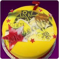 Детский торт №76