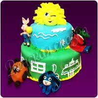 Детский торт №93