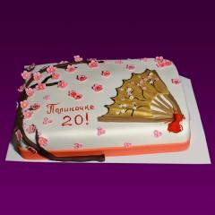 Праздничный торт №34