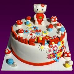 Детский торт №122