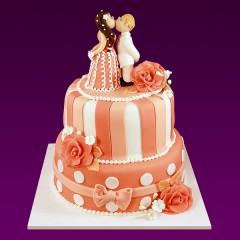 Свадебный торт №34