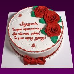 Праздничный торт №36