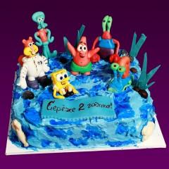 Детский торт №123