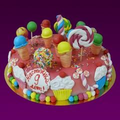 Детский торт №130