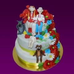 Свадебный торт №42